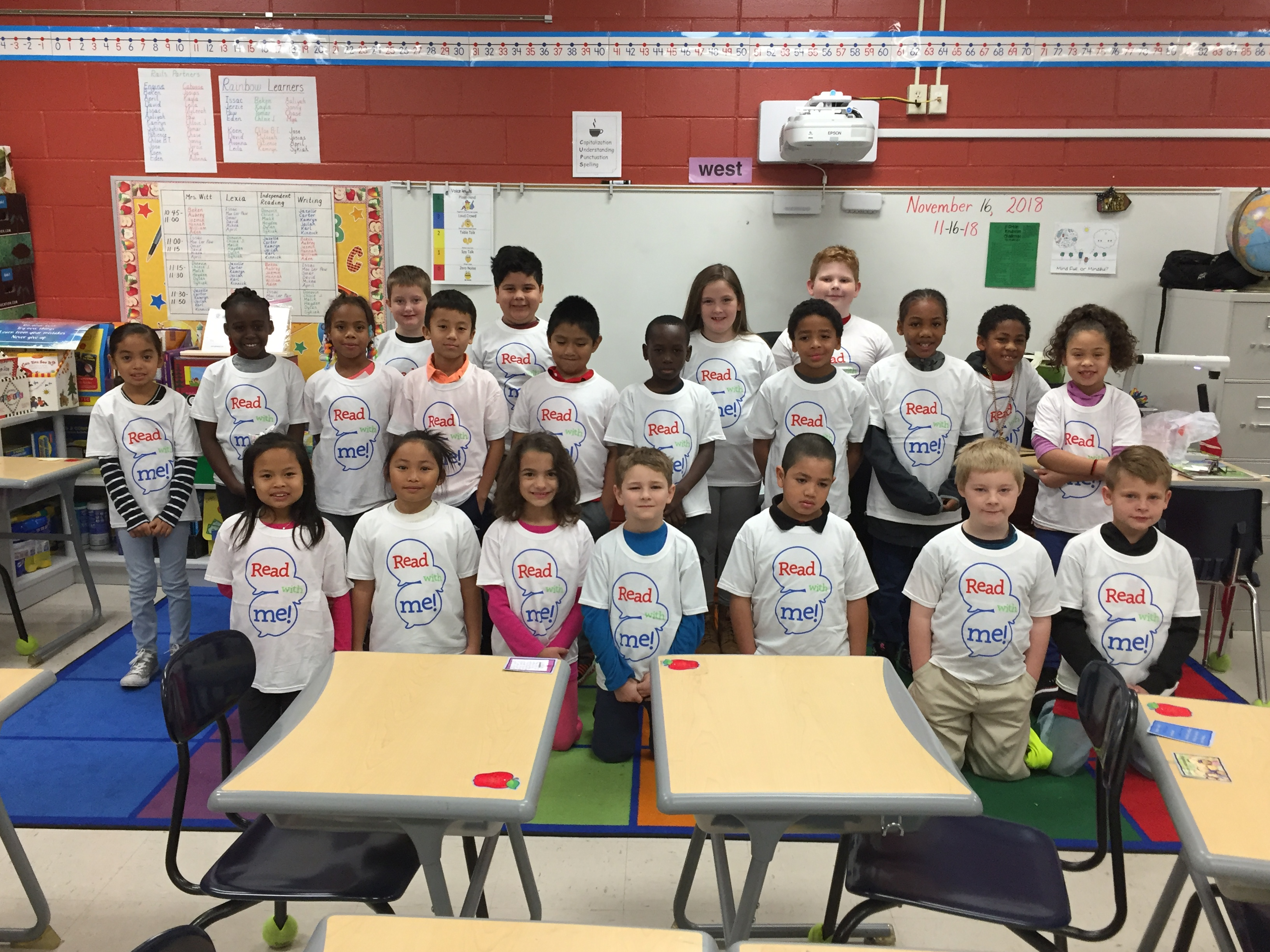 Read with Me Program donates to South Union